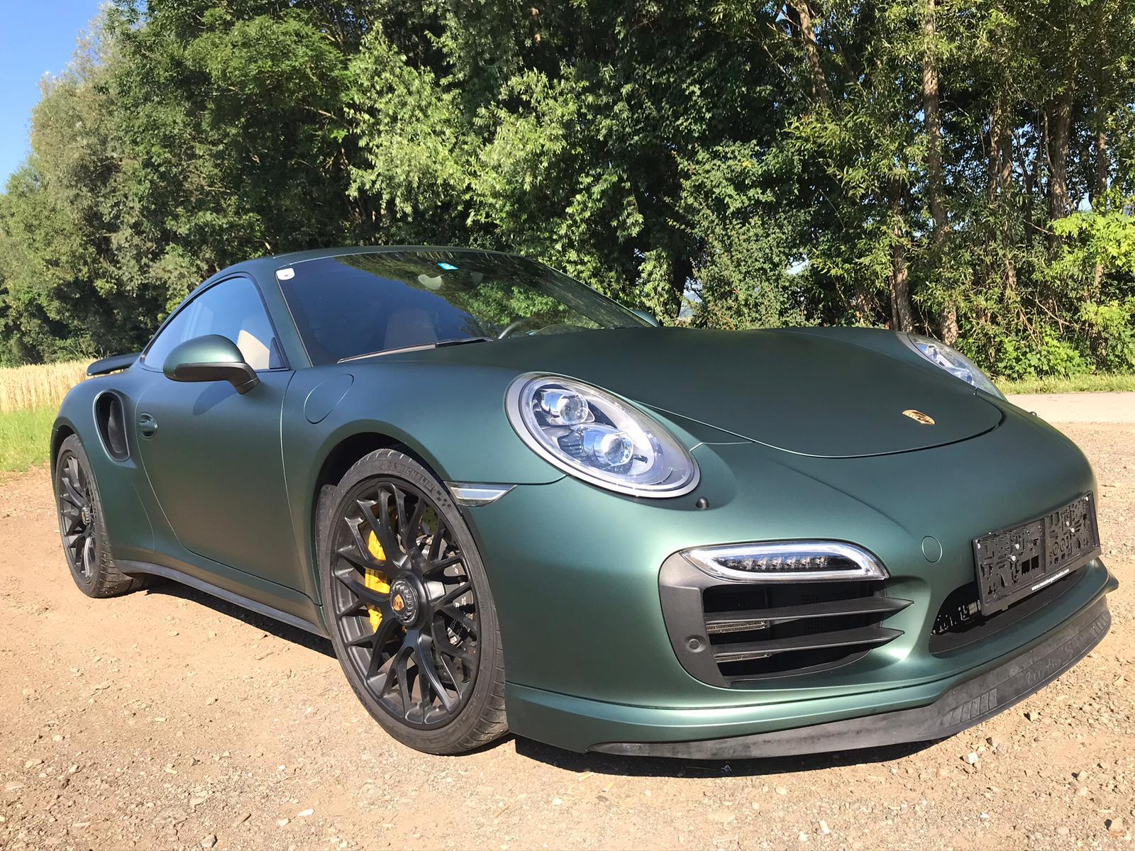 Porsche 911 Komplettfolierung